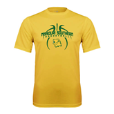 Performance Gold Tee-Design in Basketball