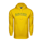 Under Armour Gold Performance Sweats Team Hoodie-Arched Missouri Southern