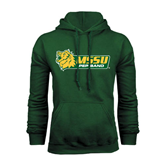 Dark Green Fleece Hood-Pep Band