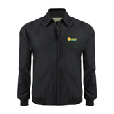Black Players Jacket-MSSU Lions w/Lion Head