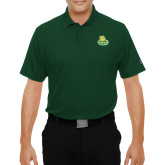 Under Armour Dark Green Performance Polo-MSSU Lions w/Lion Head On Top