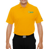 Under Armour Gold Performance Polo-MSSU Lions w/Lion Head