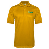 Gold Dry Mesh Polo-MSSU Lions w/Lion Head
