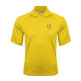 Gold Dri Mesh Pro Polo-Lion Head
