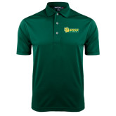 Dark Green Dry Mesh Polo-MSSU Lions w/Lion Head