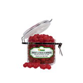 Sweet & Sour Cherry Surprise Small Round Canister-MSSU w/Lion Head