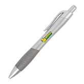 Metallic Mykonos Silver Pen-MSSU w/Lion Head