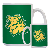 Full Color White Mug 15oz-Lion Head