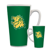 Full Color Latte Mug 17oz-Lion Head