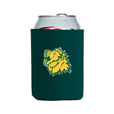 Collapsible Green Can Holder-Lion Head