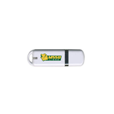 USB White Pen Drive 4G-MSSU w/Lion Head