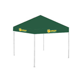 9 ft x 9 ft Dark Green Tent-MSSU w/Lion Head