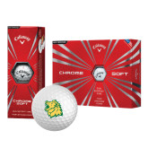 Callaway Chrome Soft Golf Balls 12/pkg-Lion Head