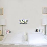 1 ft x 1 ft Fan WallSkinz-Geaux Pokes Stacked