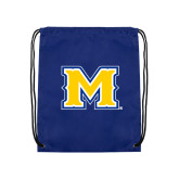 Royal Drawstring Backpack-M