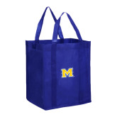 Non Woven Royal Grocery Tote-M