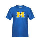 Youth Royal T Shirt-M