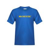 Youth Royal T Shirt-McNeese