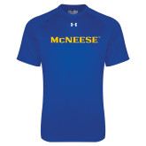 Under Armour Royal Tech Tee-McNeese