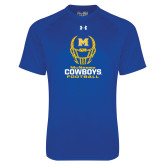 Under Armour Royal Tech Tee-Football Helmet Design