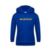 Youth Royal Fleece Hoodie-McNeese