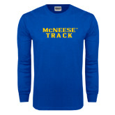 Royal Long Sleeve T Shirt-Track