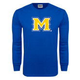 Royal Long Sleeve T Shirt-M