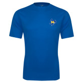 Syntrel Performance Royal Tee-Primary Mark