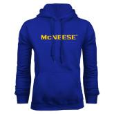 Royal Fleece Hoodie-McNeese
