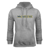 Grey Fleece Hoodie-McNeese
