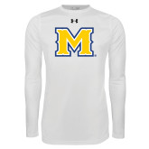 Under Armour White Long Sleeve Tech Tee-M