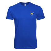 Next Level SoftStyle Royal T Shirt-Primary Mark