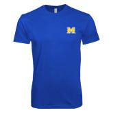 Next Level SoftStyle Royal T Shirt-M