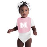 Light Pink Baby Bib-M