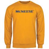 Gold Fleece Crew-McNeese