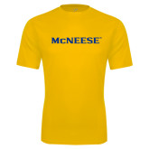 Performance Gold Tee-McNeese