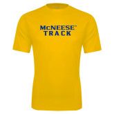 Performance Gold Tee-Track
