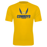 Performance Gold Tee-Track Wings Design