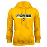 Gold Fleece Hoodie-Pokes Bar Design