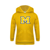 Youth Gold Fleece Hoodie-M