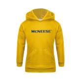 Youth Gold Fleece Hoodie-McNeese