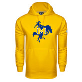Under Armour Gold Performance Sweats Team Hoodie-Primary Mark