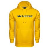 Under Armour Gold Performance Sweats Team Hoodie-McNeese