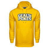 Under Armour Gold Performance Sweats Team Hoodie-Geaux Pokes Stacked