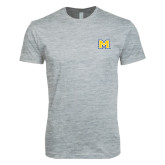 Next Level SoftStyle Heather Grey T Shirt-M
