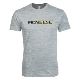 Next Level SoftStyle Heather Grey T Shirt-McNeese