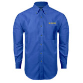 Mens Royal Oxford Long Sleeve Shirt-McNeese