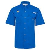 Columbia Bonehead Royal Short Sleeve Shirt-Primary Mark