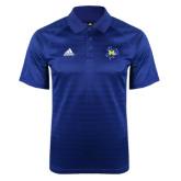 Adidas Climalite Royal Jaquard Select Polo-Primary Mark