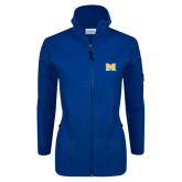 Columbia Ladies Full Zip Royal Fleece Jacket-M